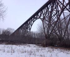 Canadian National Railway (CN), Arcola High Bridge Rope Access Inspection Main Image